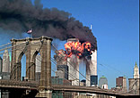 9/11/01 View from Brooklyn Bridge