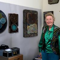 Bobbie Mastrangelo in her office