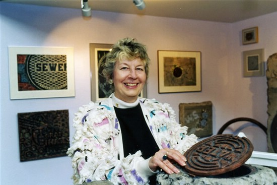 "Bobbi Mastrangelo's ""Grate Works"" Exhibit at Baltimore Public Works Museum in 1996"