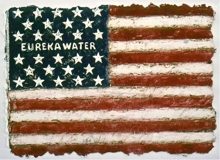 Eureka American Flag